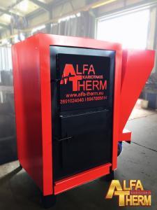 Λέβητας Βιομάζας 150.000 kcal/h 6 διαδρομών Alfa Therm Καριωτάκης